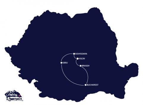 Transylvania Break Tour Map