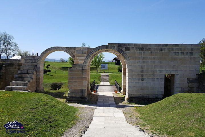 Alba Iulia Roman Gate by Holiday to Romania