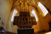 Biertan Fortified Church Altar by Holiday to Romania