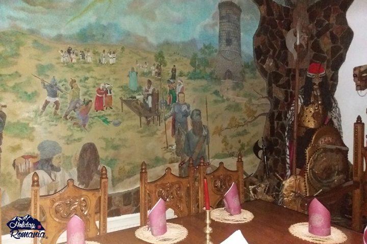 Dracula Restaurant Turda by Holiday to Romania