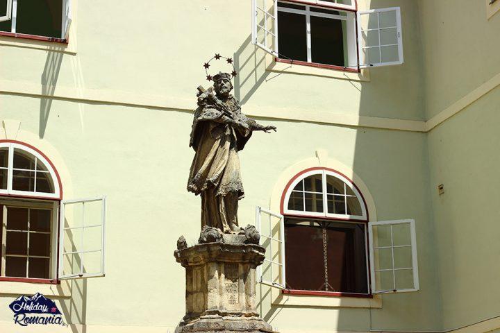 John Nepomuk in Sibiu by Holiday to Romania