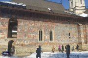 Moldovita Painted Monastery Fresco