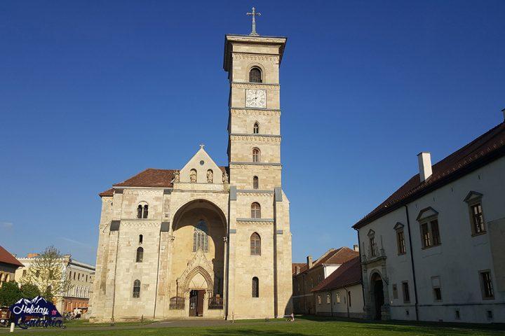 Roman Catholic Cathedral Alba Iulia by Holiday to Romania