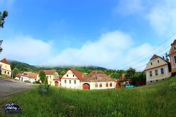 Saschiz Saxon Village by Holiday to Romania