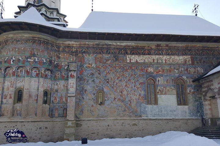 Sucevita Painted Monastery Fresco