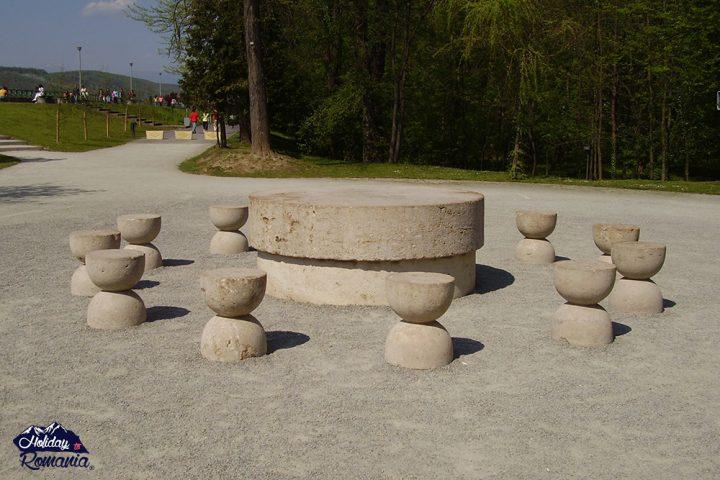 The Table of Silences -The Sculptural Ensemble of Constantin Brancusi at Targu Jiu by Holiday to Romania