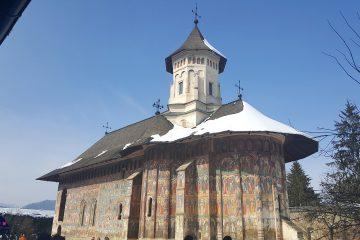Moldovita Painted Monastery by Holiday to Romania